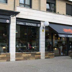 exterior restaurante Bovino Gijón