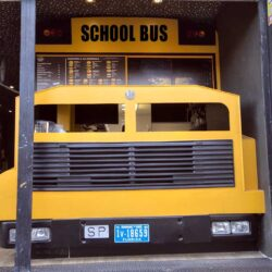 Food truck Burger bus detalle morro bus