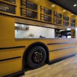 Food truck Burger bus vista general bus 02