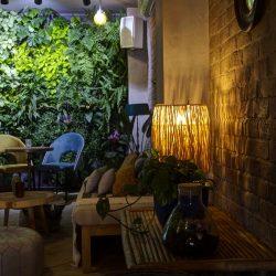 Mobiliario para patio interior