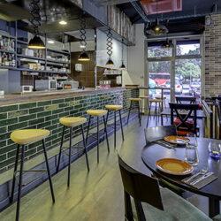 Reforma restaurante en Mallorca Vandal salon 07