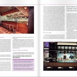 El reportaje da interesantes concejos de cómo decorar un restaurante