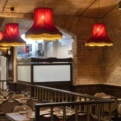 Restaurante bistrot bilou vista hacia cocina