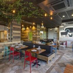 Patio parras 02 restaurante BOVINO GIJON Da2 Arquitectura