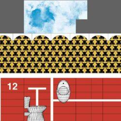 También nos apoyamos en el diseño gráfico para decorar ambientes.