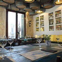 Decoración restaurante rustico