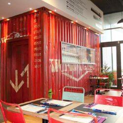 Utilización de containers para la decoración