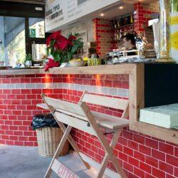 Diseño de barras para pizzería, detalle 01