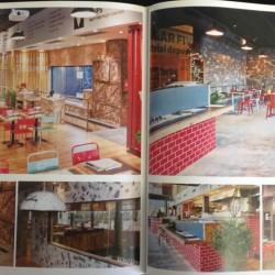 diseño y decoración de restaurante Los soprano Libro Space+ pag02