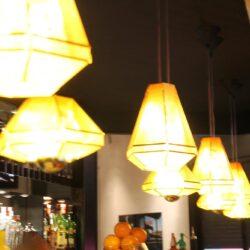 Las lámparas son de diseño