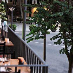 Bar de tapas Ombú vista desde balcón