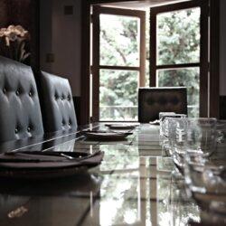 Detalle de mesa sala vip