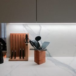 diseño de cocinas modernas detalle encimera