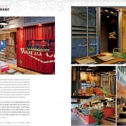 Diseño y decoración Restaurante Los Soprano Revista BOB página interior