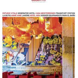 Dsieño y decoración restaurante Casa Guinart Revista Proyecto Contract portada