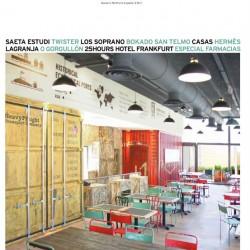 Diseño y decoracion Restaurante Los soprano Portada
