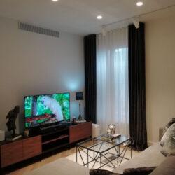 Diseño de piso vista salón